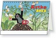 Krtko - stolní kalendář 2012