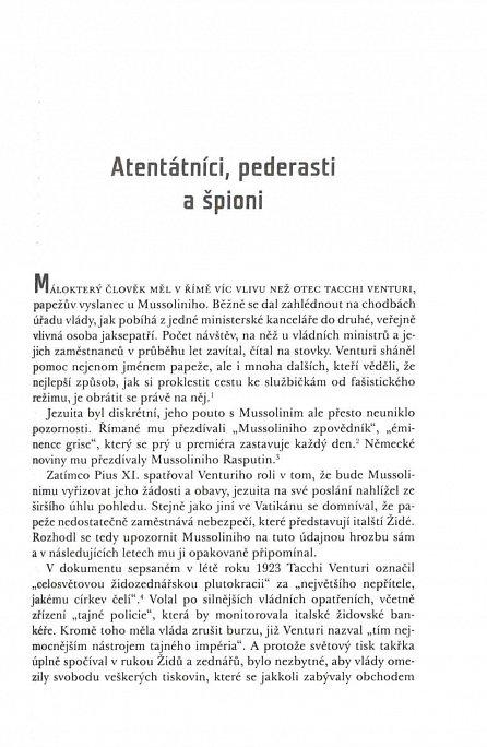 Náhled Papež a Mussolini - Tajemství papeže Pia XI. a vzestup fašismu v Evropě