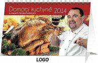 Kalendář 2014 - Domácí kuchyně s Ivanem Vodochodským - stolní