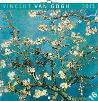 Kalendář 2013 poznámkový - Vincent van Gogh, 30 x 60 cm