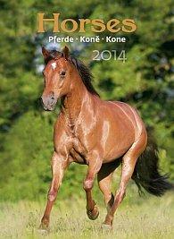 Kalendář 2014 - Koně - nástěnný