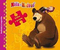 Máša a Medveď Kniha s puzzle
