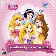 Vymaľovanky pre najmenších Disney Princezná