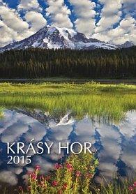 Krásy hor - nástěnný kalendář 2015