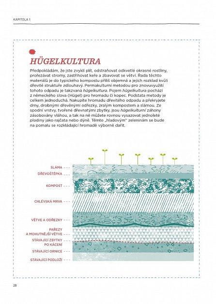 Náhled Permakultura - Zahradničení v souladu s přírodou; Funkční zahrada s minimální údržbou