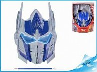 Maska Optimus Prime Transformers na baterie různé druhy zvuku + svítící oči