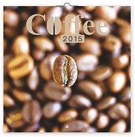 Kalendář 2015 - Káva - voňavý - nástěnný, 30 x 30 cm