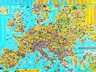 Detská mapa Európy