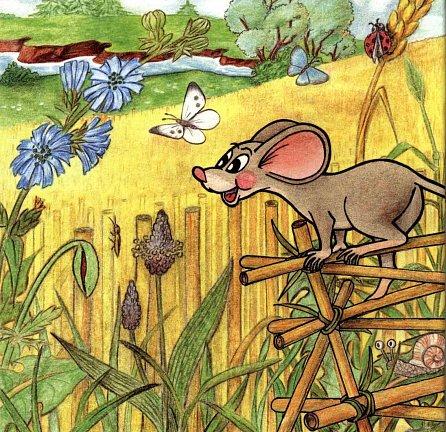 Náhled O chytré myšce