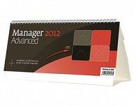Kalendář stolní 2012 - Manager Advanced (MIDI)