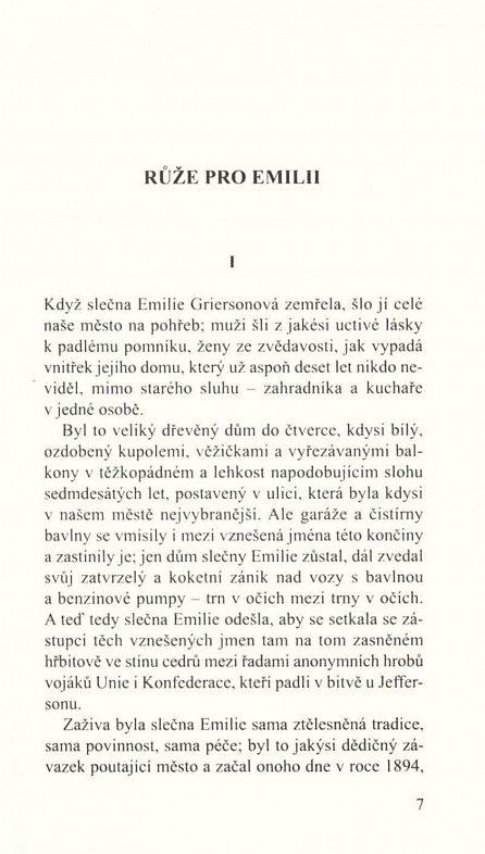 Náhled Růže pro Emilii / A Rose for Emily