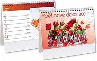 Květinová dekorace 2013 - stolní kalendář
