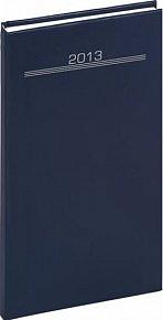 Diář 2013 - Balacron - Kapesní Praktik, tmavě modrá, 9 x 15,5 cm