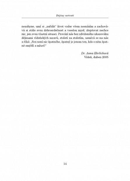 Náhled Dějiny neřesti. Po stopách Josefíny Mutzenbacherové