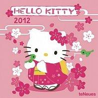 Kalendář nástěnný 2012 - Hello Kitty, 30 x 60 cm