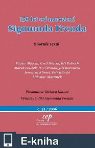 150 let od narození Sigmunda Freuda (E-KNIHA)