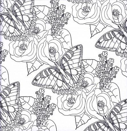 Náhled Zářiví motýli - Více než 50 omalovánek proti stresu