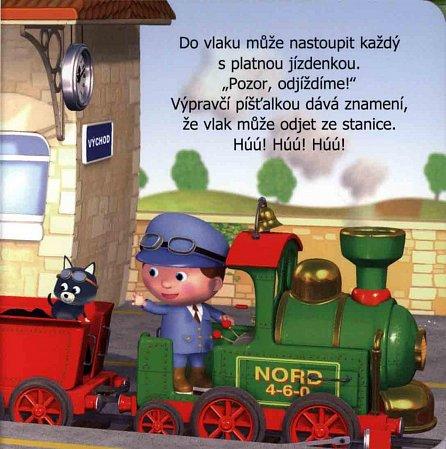 Náhled Malý chlapec - Vojtův vlak