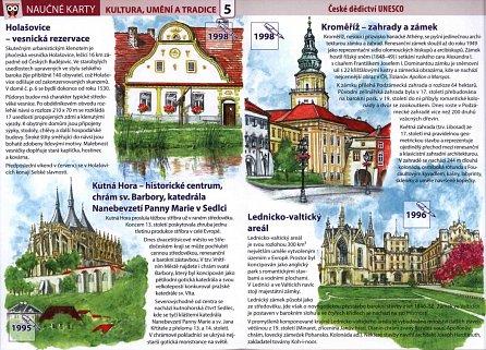 Náhled České dědictví UNESCO - Naučné karty