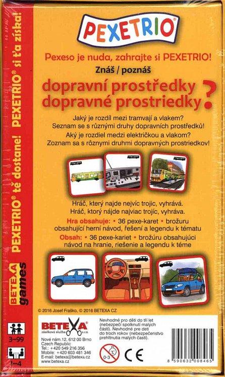 Náhled Pexetrio - Znáš dopravní prostředky?