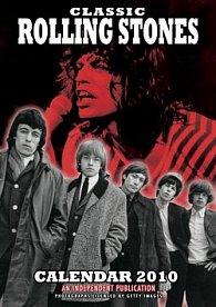 Rolling Stones 2010 - nástěnný kalendář