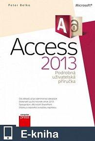 Microsoft Access 2013 Podrobná uživatelská příručka (E-KNIHA)