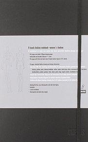 9 Heads Fashion Notebook: Women's Fashion
