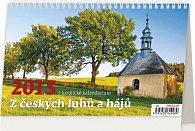 Kalendář stolní 2015 - Z Českých luhů a
