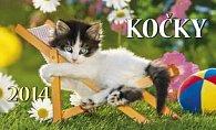 Kočky - Stolní kalendář 2014