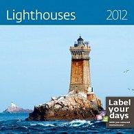 Kalendář nástěnný 2012 - Lighthouses 300x300