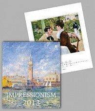 Impressionism - nástěnný kalendář 2013