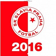 Kalendář nástěnný 2016 - SK Slavia Praha, poznámkový  30 x 30 cm