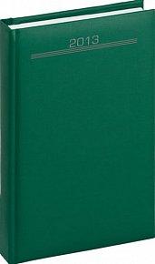 Diář 2013 - Capys - Denní A5 Praktik, zelená, 15 x 21 cm