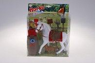 Sada koně s doplňky