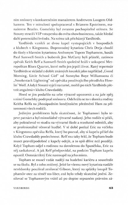 "Náhled Eric Clapton ""Motherless Child"" - Biografie"