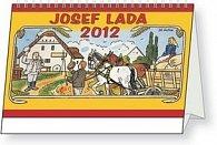 Kalendář stolní  2012 - Josef Lada - Do mlýna, 23,1 x 14,5 cm
