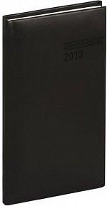 Diář 2013 - Tucson-Vivella - Kapesní, černá, 9 x 15,5 cm
