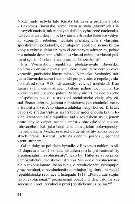 Náhled 1924 - Rok, který stvořil Hitlera