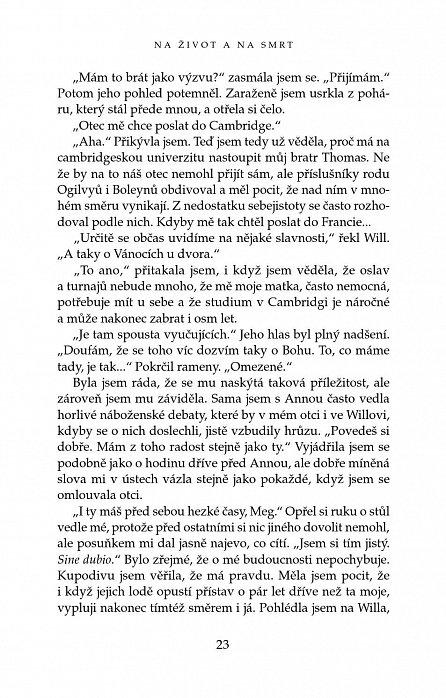 Náhled Na život a na smrt - román o Anně Boleynové