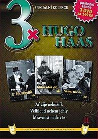 3x Hugo Haas II. - Speciální kolekce - 3DVD