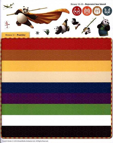 Náhled Kung Fu Panda 3  - Velká kniha samolepek a her
