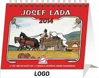 Kalendář 2014 - Josef Lada Praktik Na cestě - stolní