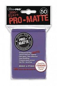 UltraPRO: 50 DP PRO Matte obaly - fialová