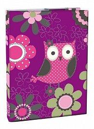 Box na sešity A4 - Owl