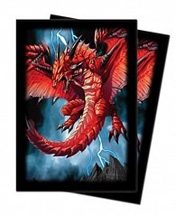 UP Art: M. Herrerae, Demon Dragon - malé obaly na karty