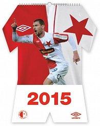 Kalendář 2015 - SK Slavia Praha - nástěnný