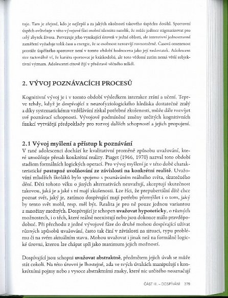 Náhled Vývojová psychologie