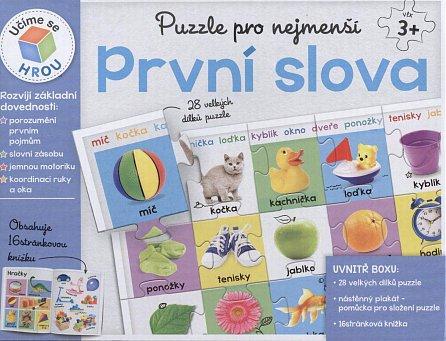 Náhled Puzzle pro nejmenší: První slova