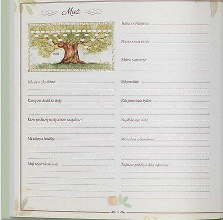 Náhled Strom života naší rodiny: Kniha pro zaznamenávání rodokmenu a rodinné historie