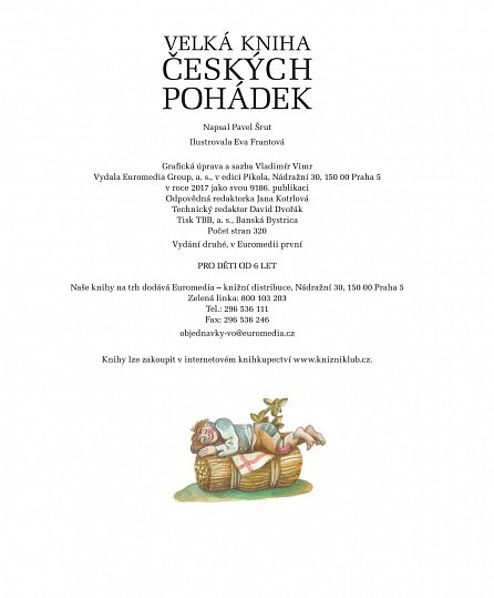 Náhled Velká kniha českých pohádek